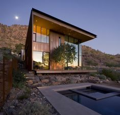 Jarson Residence by Will Bruder + Partners, Arizona.