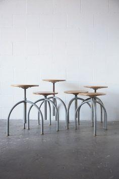 Minimalist 3 legged stools | stool . Hocker . tabouret | Design: Amsterdam Modern |