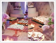 Dessert bar for the DREAM bridal event designed by Alchemy Fine Events