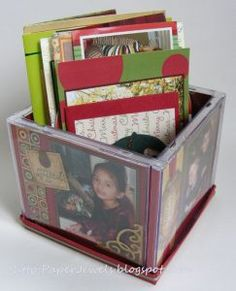 Venture Into the Realm and Use Your Printer to Create a CD Case Photo Cube Cd Case Crafts, Cd Crafts, Handmade Crafts, Diy And Crafts, Crafts For Kids, Cd Diy, Diy Craft Projects, Craft Gifts, Diy Gifts