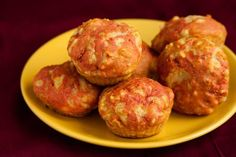 Parmesan, tomato and spring onion muffins