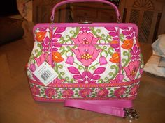 Vera Bradley Barbara Bag in Lilli Bell NEW WITH TAGS in Clothing, Shoes & Accessories | eBay