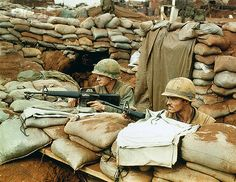 https://flic.kr/p/6E2oJn | U1591074 | 21 Feb 1968, Khe Sanh, Vietnam --- US Soldiers Watching for Enemy Activity --- Image by © Bettmann/CORBIS