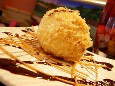 Cocina China: Helado frito