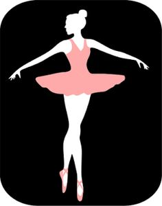 The Lady Wolf: Ballerina Silhouette SVG
