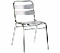 Catalina - Aluminium frames chair perfect for outdoor use. #contractfurniture #outdoorfurniture #chairs
