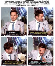 RDJ is the greatest