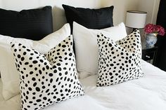 Dotted Pillows