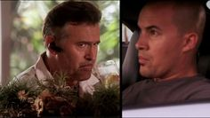 """Burn Notice 5x02 """"Bloodlines"""" - Sam Axe (Bruce Campbell) & Jesse Porter (Coby Bell)"""