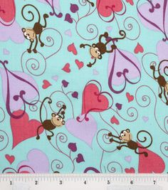 monkey love :) #fabric
