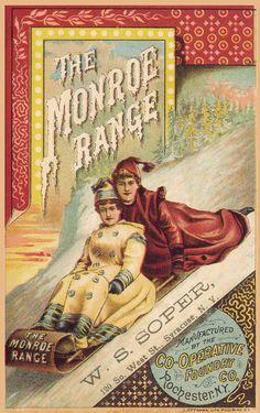 Monroe Range Booklet Cover via sheaff-ephemera.com