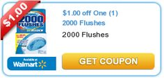 Possible 2000 Flushes FREEBIE at Dollar Tree with this coupon!
