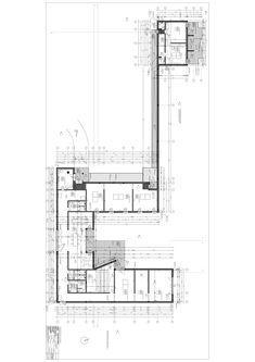 large student home apartment home complex Brick Architecture, Architecture Drawings, Architecture Details, Alvar Aalto, Image Master, Casa Patio, Building Images, Elevation Plan, Site Plans