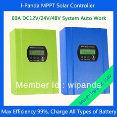 IPANDA  48V 60A solar controller mppt   PV solar regulator 48V 60Amps for solar battery system