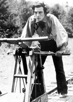 Buster Keaton in his silent classic, The General (1926)