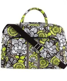 Vera Bradley Weekender Travel Bag in Citron NWT 3d1133ca07418