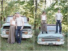 I absolutely love the style for this engagement shoot...