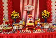 Circus / Carnival Birthday Party Ideas | Photo 1 of 48