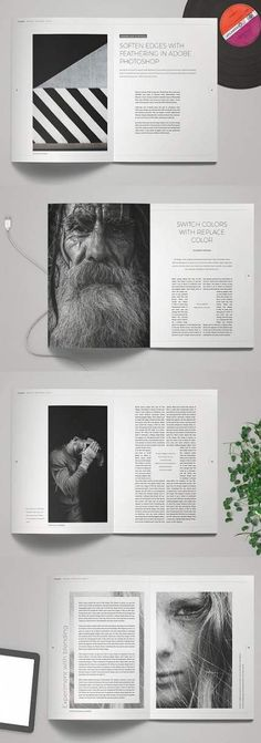 L E G E N D Minimal Magazine is beautiful and cool magazine layout for Adobe InDesign. Print ready or export as PDF. L E G E N D Minimal Magazine is a Page Layout Design, Magazine Layout Design, Graphic Design Layouts, Magazine Layouts, Editorial Design Magazine, Design Design, Minimalist Layout, Minimalist Graphic Design, Minimal Design