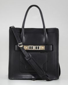PS11 Small Tote Bag, Black by Proenza Schouler at Neiman Marcus.