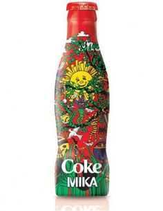 MIKA coke....What?! I want Mika PEPSI!  Well shoot...Actually I would want a Mika GINGER ALE