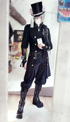 Bought new boots for my Ouji outfits.