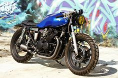 custom xj600 | this 1990 yamaha xj 600 remained abandoned in a backyard for about 5 ...
