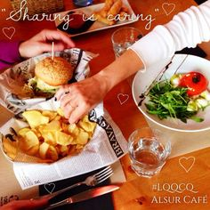 """Who hasn't been in a similar situation? """"Sharing is caring"""" because life is better when shared! Alsur Cafe #love #sharingiscaring #compartelavida #alsurcafe"""