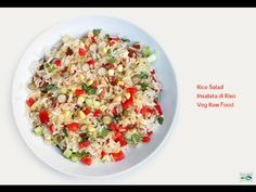 Insalata di Riso - Veg Raw Food - Ricetta Facile e Veloce (Crudismo) - YouTube