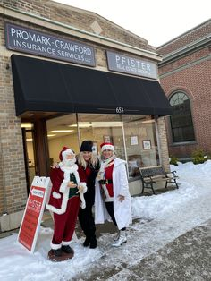 A visit from Mrs. clause in Santa Claus today The East Aurora Carol Cade /Cookie Crawl