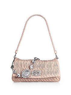 0096fcda24 Miu MIu  handbag  purse  clutch double strap