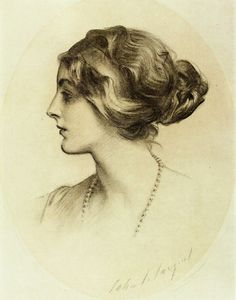 Margaretta Drexel, Countess of Winchilsea and Nottingham - John Singer Sargent