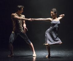 """Yuhui Choe & Kenta Kura in """"The Human Edge"""" Dance Images, Dance Pictures, I Want To Travel, Modern Dance, English Style, Just Dance, Stunts, Athlete, Poses"""