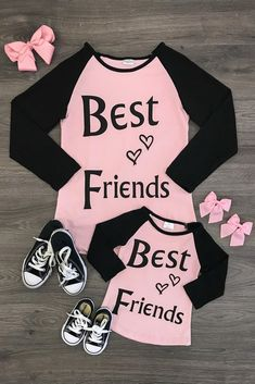 "Mommy & Me - Blush Pink ""Best Friends"" Shirt"