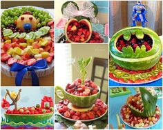 Watermelon Carvings Lots Of Amazing Ideas   The WHOot