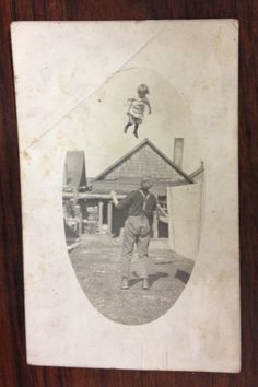 This is how they played catch in 1915. #VernacularPhotography from the collection of Billy Parrott
