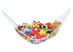 Stuffed Animal Toy Hammock - Best for keeping rooms clean