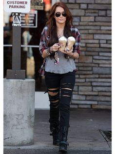Miley Cyrus Fashion Pictures - Miley Cyrus Style Throughout the Years - Seventeen