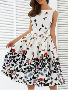 GET $50 NOW | Join RoseGal: Get YOUR $50 NOW!http://m.rosegal.com/print-dresses/sleeveless-floral-self-tie-a-680060.html?seid=e8pnujtfu0dt75bo3sunjmlrh5rg680060