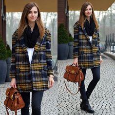 Choies Plaid Coat