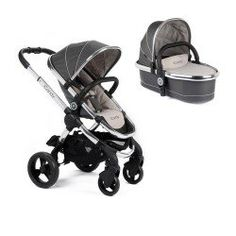 iCandy Peach Pushchair and Carrycot - Truffle 2 - Main image