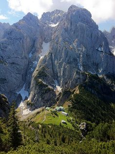 Wilder Kaiser mountains, austria