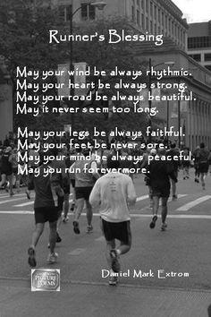 Downloadable: Marathon & Runner's Blessing. On Sale. : Daniel Mark Picture Poems: