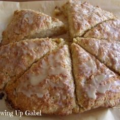 Maple Oatmeal Scones.  Would be interested to see if these are better than the Scottish oat scones out of Babe's Country Cookbook.