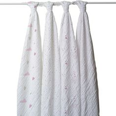 Aden and Anais - Classic Muslin Swaddle 4 Pack - Lovely