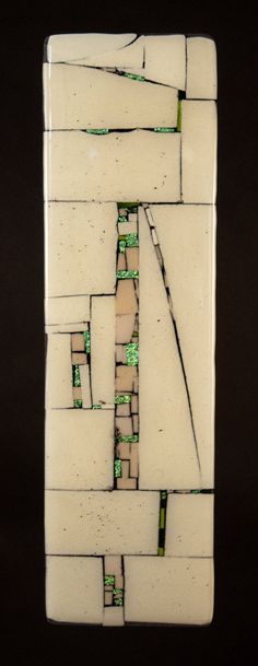 Western Wall - Notes by Vicky Kokolski and Meg Branzetti: Art Glass Wall Sculpture available at www.artfulhome.com