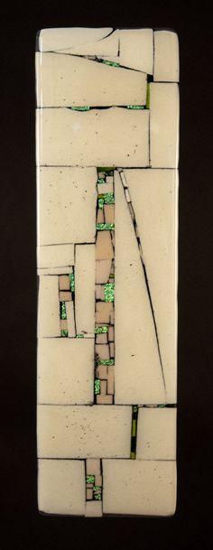 Western Wall - Letters by Meg Branzetti, Vicky Kokolski: Art Glass Wall Art available at www.artfulhome.com