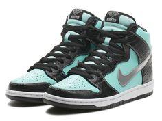 "Nike SB X Diamond Dunk High ""Tiffany"" Release Info"