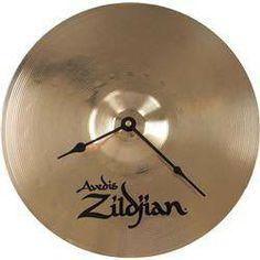Horloge Zildjian cadeau pour batteur à l'heure