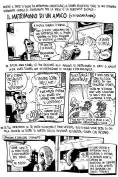 """ZEROCALCARE: """"IL MATRIMONIO DI UN AMICO"""", L'ULTIMA AVVENTURA DIRETTAMENTE DAL BLOG http://c4comic.it/2015/06/29/zerocalcare-il-matrimonio-di-un-amico-lultima-avventura-direttamente-dal-blog/"""